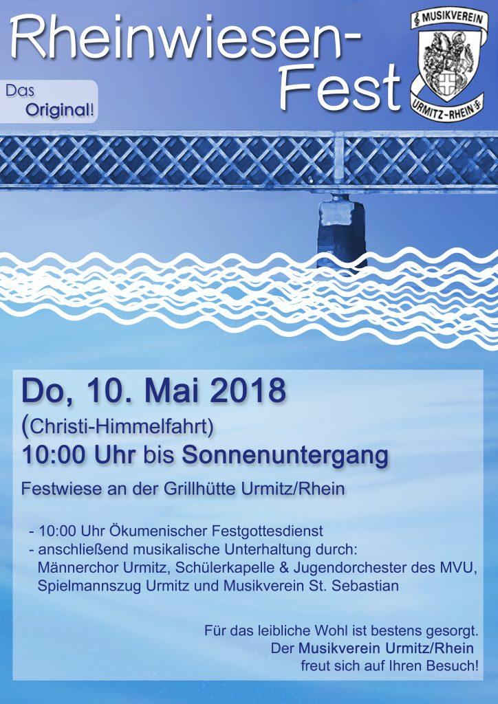 Orchester Musikverein am Rhein Fest zu Christi Himmelfahrt Rheinwiese